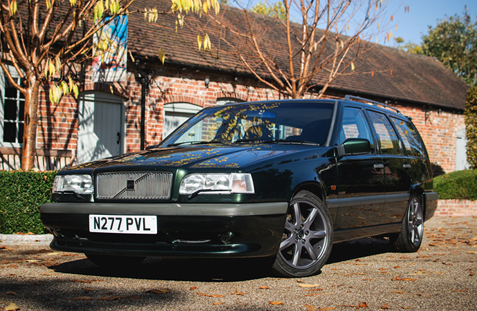 This 1996 Volvo 850R Sport Wagon seems to be the odd one out of Kay's collection. | Silverstone Auctions photo