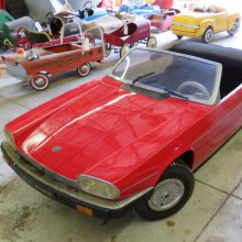 Pedal cars featured at 'Crooked Herman' auction