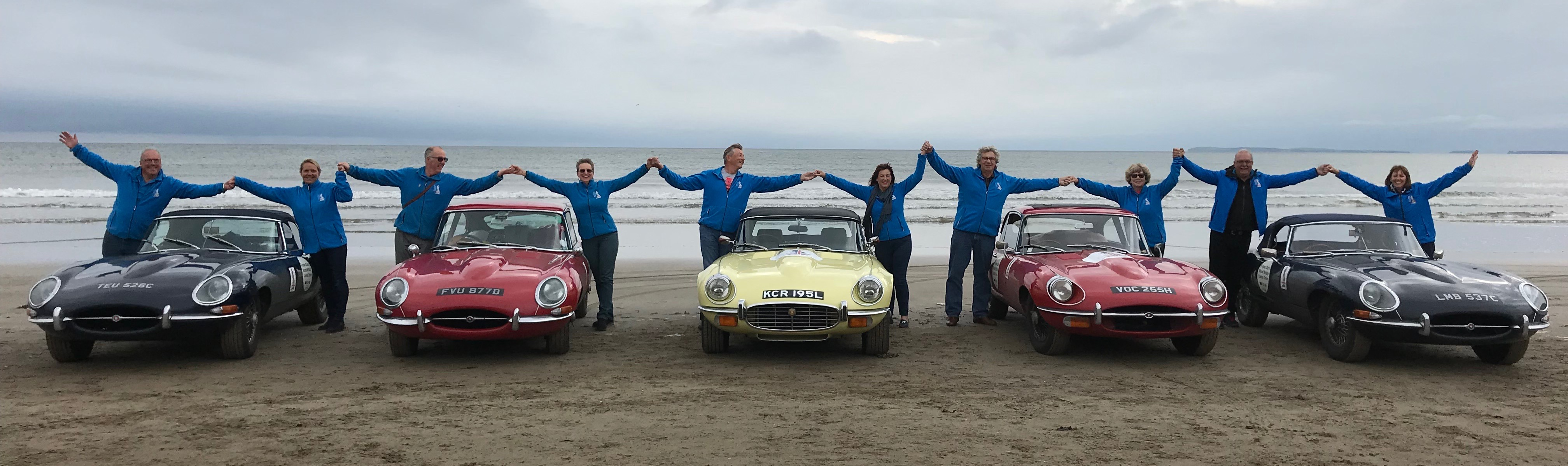 Prostate cancer, E-types circle Britain to fight prostate cancer, ClassicCars.com Journal
