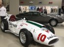 Maserati's stand celebrated the 60th anniversary of the historic Eldorado race car.
