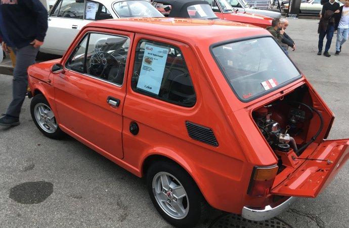 A Fiat 126 Giannini Replica seemed like a bargain at €6,500 ($7,400).