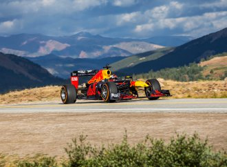 Road trippin', Formula One style drive across the country