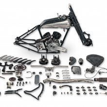 Some assembly required doesn't daunt bidders at Bonhams British motorcycle auction
