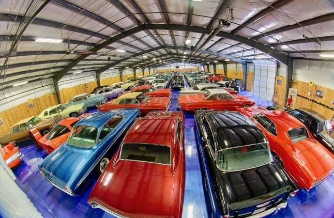 52 cars from Bill's Backyard Classics will cross the block in Dallas
