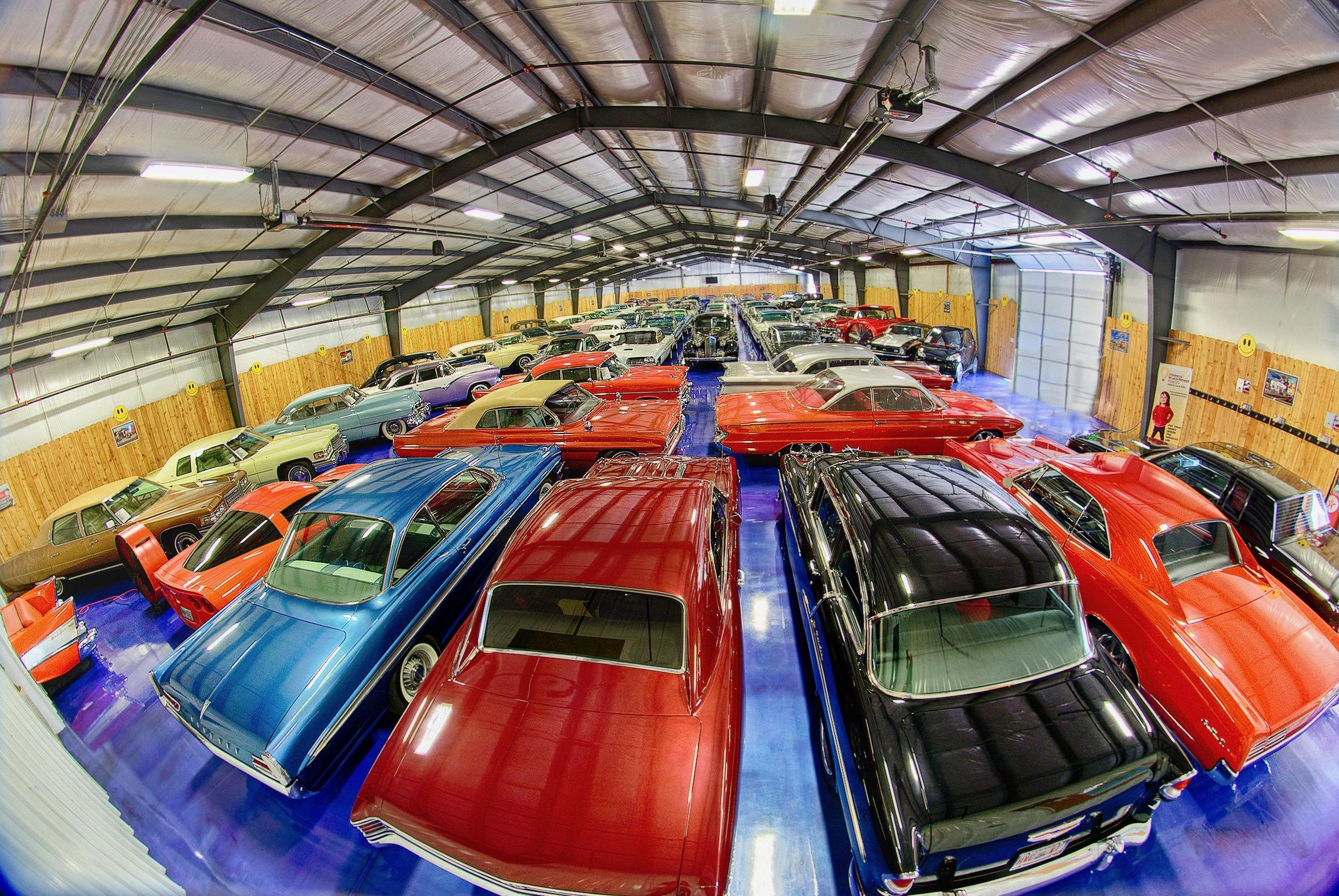 52 cars from Bill's Backyard Classics will cross Mecum