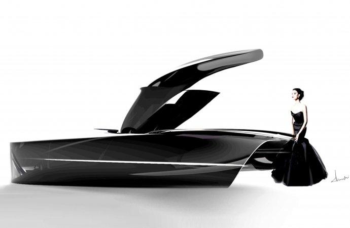 Future classics: Design students forecast 2050 Bentleys