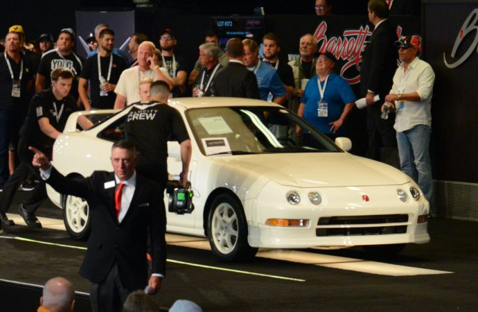 Was sale of '97 Integra Type R a seminal moment for Japanese collector cars?