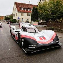 Le Mans-winning Porsches driven on public roads