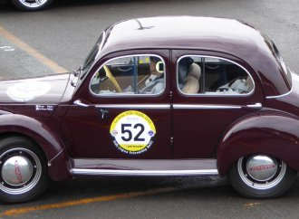 1951 Panhard wins preservation honors in Japan
