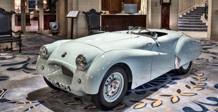 Triumph, 'Jabbeke' Triumph TR2 honored as historic car of the year, ClassicCars.com Journal