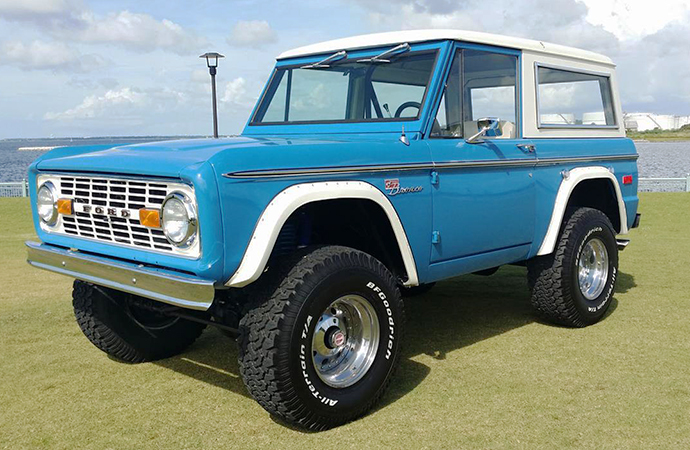 She's never named a car, but we know Kristen has a weakness for off-road vehicles and we bet she'd love this restored Bronco. | ClassicCars.com photo