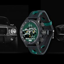 One-of-a-kind 'Bullitt' Mustang timepiece will help battle Parkinson's