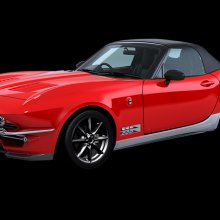 Japanese company builds C2 Corvette on Miata platform