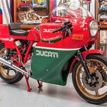 Ducati MHR motorcycle honors legendary racer Mike Hailwood