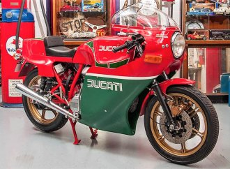 Ducati MHR motorcycle honors legendary racer Mike Hailwood