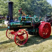 Mechanical and Clydesdale horsepower offered at Gone Farmin' auction