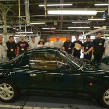 Mazda delivers first factory-restored MX-5 Miata under new program