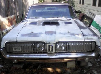 Frankenstein's Cat is a '68 Cougar years in the making