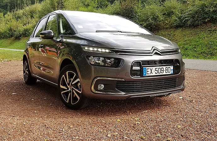 Getting in touch with French ancestry in a Citroen C4 Picasso