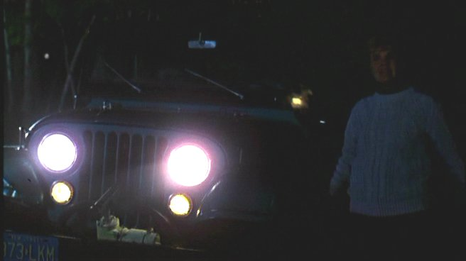 There's other cool Jeeps in the movie, but this one plays a special role. | Screenshot