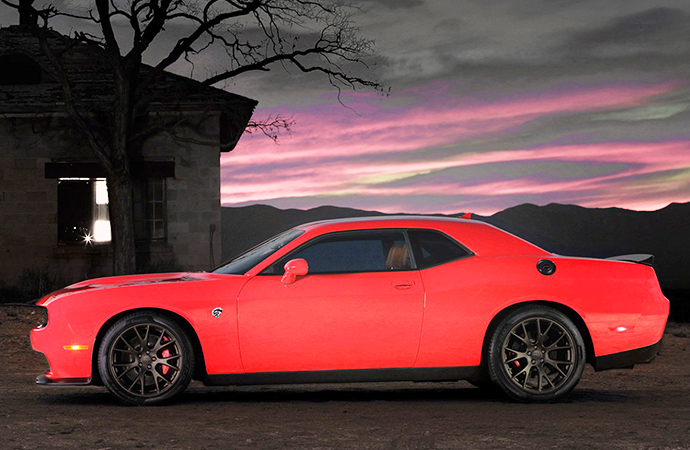 Dodge's 2019 Hellcat Redeye will get a lot meaner -- think 1,200 horsepower -- once Hennessey Performance is done with this. | Twitter photo/@Dodge