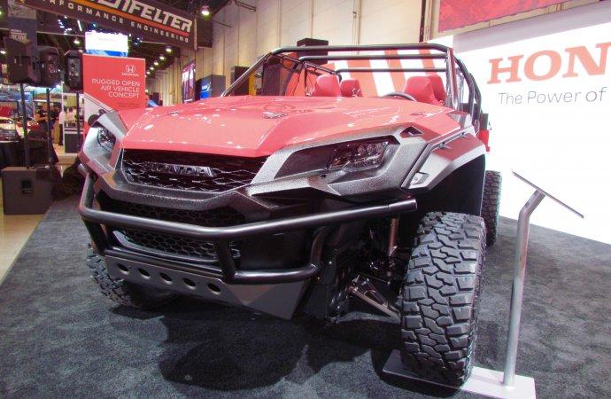 SEMA Seen: Honda Rugged Open Air Vehicle concept