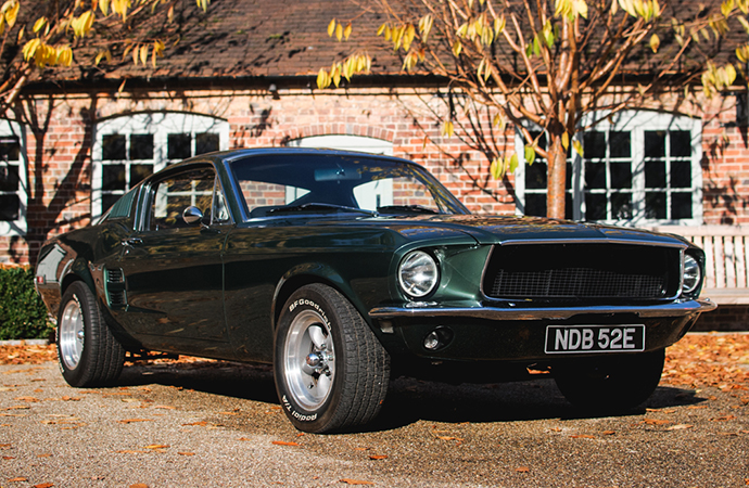Jamiroquai lead singer Jay Kay will sell a group of classic cars, including this 'Bullitt' recreation, at Silverstone Auctions' upcoming sale. | Silverstone Auctions photo