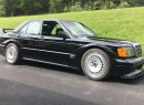 Piper Motorsport has dubbed its Mercedes-Benz 190E with the chassis and powertrain of a C63 AMG the Frankenstein Benz. | Facebook photo