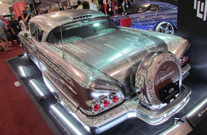 SEMA Seen: Kuhl Racing/Rohan 1958 Chevrolet Impala