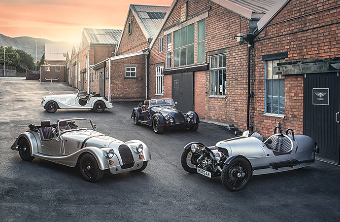 The Morgan Motor Company is releasing some special models to celebrate its 110th anniversary. | Morgan Motor Company photos