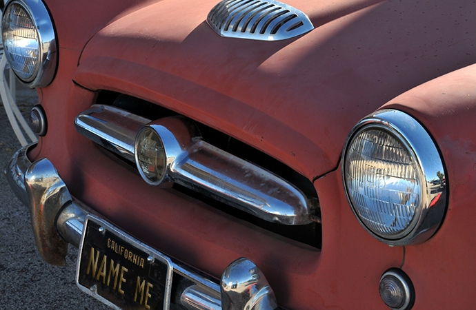 The how and why of naming or not naming a car is hard to explain, by we tried our best. | Public domain photo
