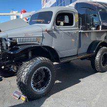 SEMA Seen: 1941 Dodge Power Wagon nicknamed 'Full Metal Jacket'