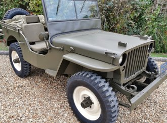 Willys Jeep MB owned by Steve McQueen going to auction