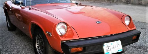 Jensen-Healey roadster powered by Lotus twin-cam engine