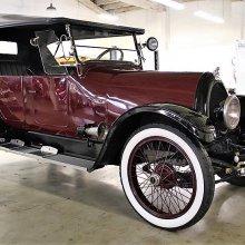 Air-cooled antique 1922 Franklin