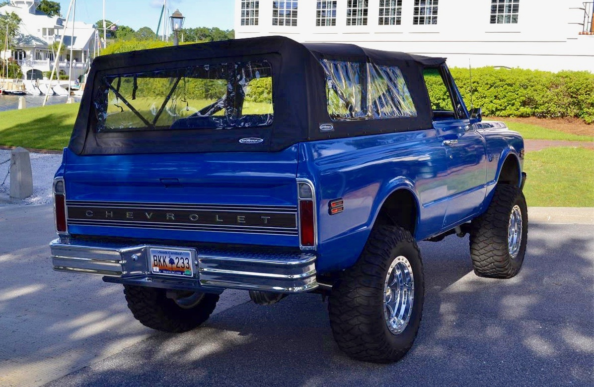 1972 Chevrolet Blazer, Pick of the Day is first-generation Chevy Blazer, ClassicCars.com Journal