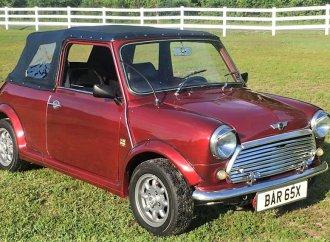 Unusual classic Mini convertible