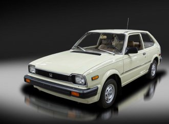 Time-capsule '83 Honda Civic hatchback