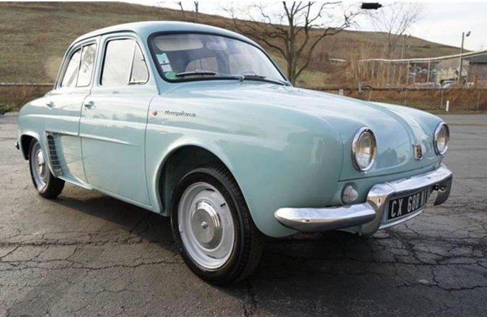 1962 Renault Dauphine is French 'princess'