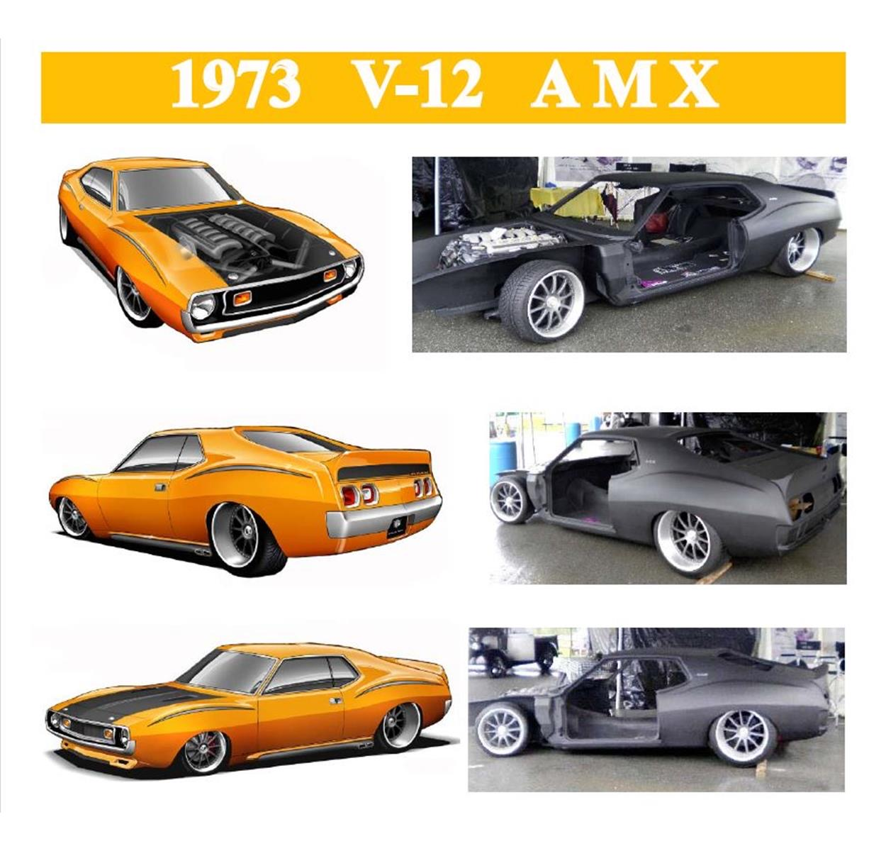 Aston Martin Powered 73 Amx Project Is Pick Of The Day