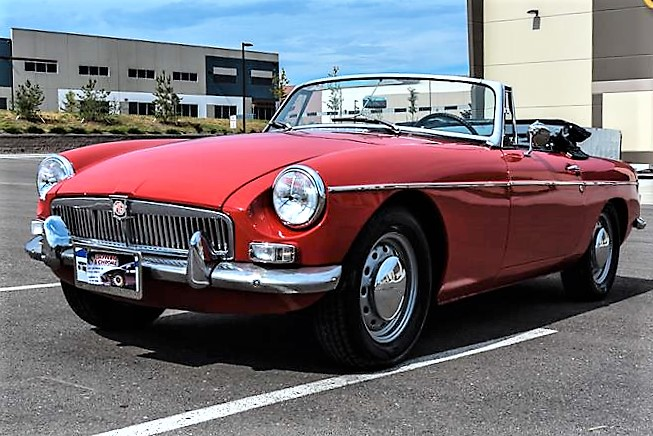 Desirable early MGB roadster