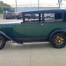 1928 Pontiac Six a dealer-family showpiece