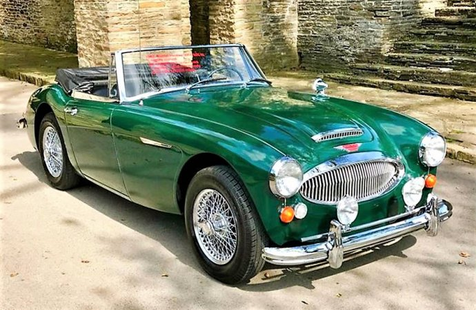'Big' Austin Healey 3000 BJ8 in low-mileage condition