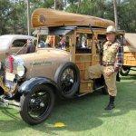 1929 Ford camp wagon Hilton Head concours