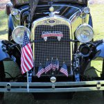 1930 Ford Model A Town Sedan wears its colors