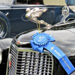 1937 Cadillac Series 90 Fleetwood wearing its Best of Class ribbon