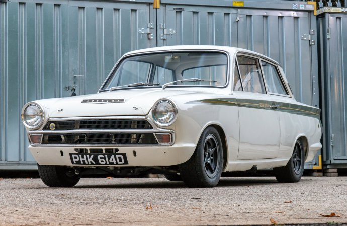 Works Lotus Cortina headed to auction