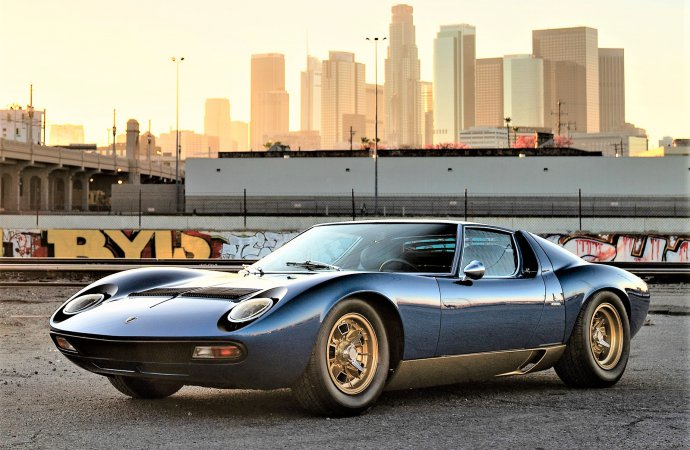Exotic supercars, then to now, set for auction at Petersen Museum