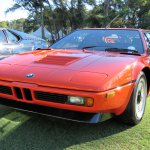 1978 BMW M1 from the 40-year anniversary class