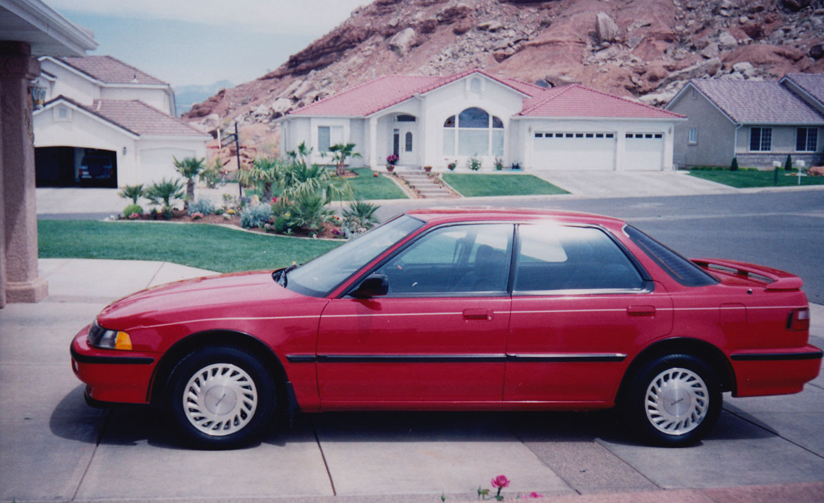 One car was all it took for Tyson Hugie to fall in love with Acura.   Tyson Hugie photos